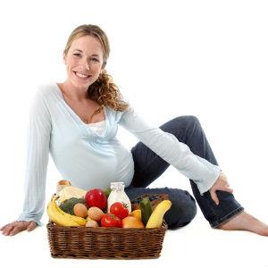 Правильное витаминизированное питание для беременной женщины