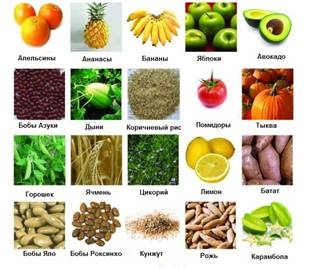 Пребиотики в натуральных продуктах