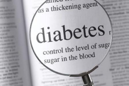 Надпись - диабет